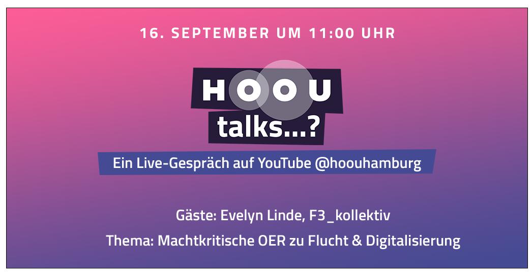 HOOU talks F3 kollektiv