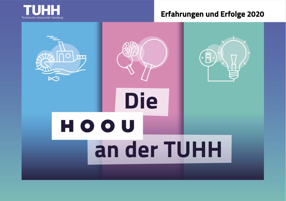 Titelbild der HOOU@TUHH Broschüre 2020