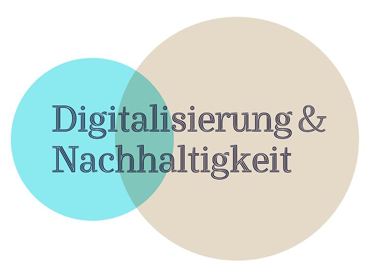 Logo vom Projekt Digitalisierung & Nachhaltigkeit
